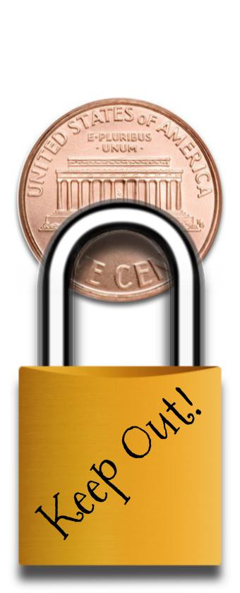 Keep Out! Mini Lock