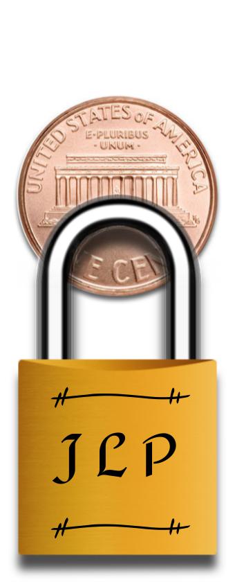 Initials Mini Lock