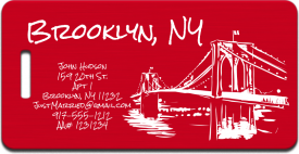 Brooklyn Luggage Tag