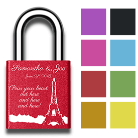 Love Locked in Paris