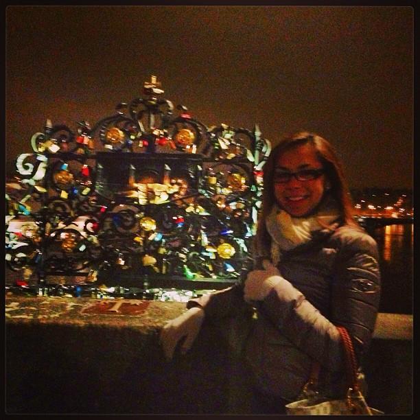Love locks #prague #charlesbridge #malastrana #karluvmost #praha #lovelocks