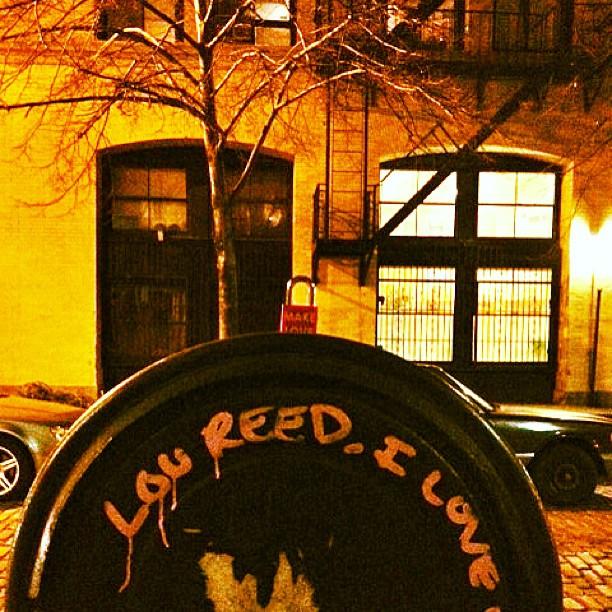 Make Love #loureed #westvillagenyc #nyc #makelovelocks #lovelocks #love #luv