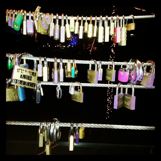 #love #locks in #ljubljana