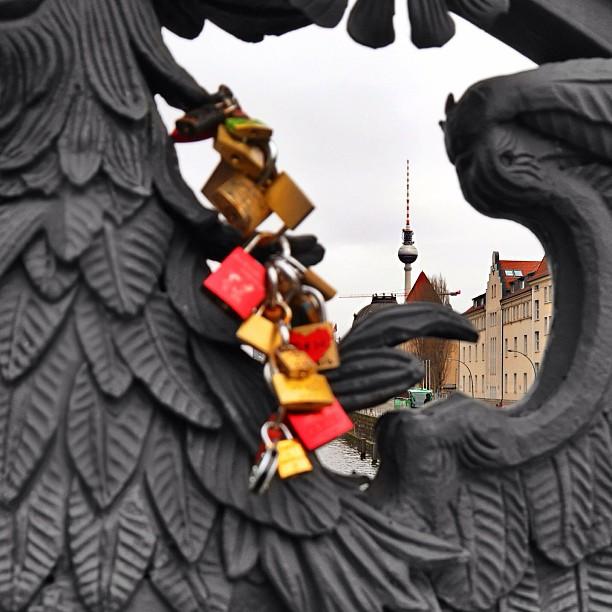 #berlin #tvtower #fernsehturm #lovepadlocks #padlock