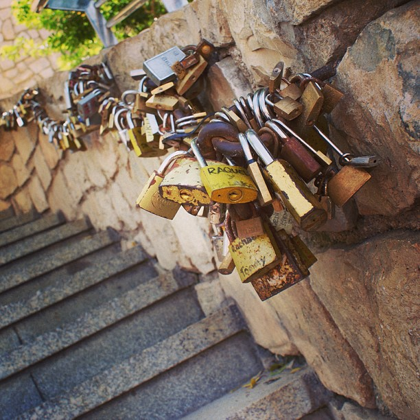 #spain #benidorm #lovelocks #lovepadlocks #makelovelocks