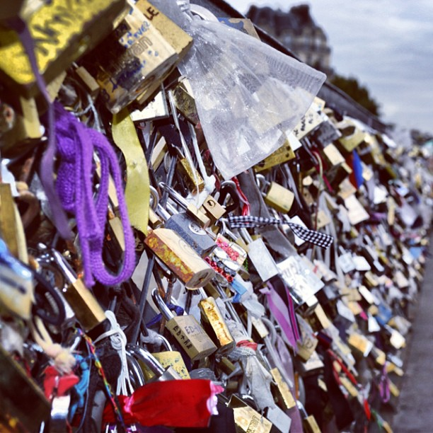 #paris #lovelocks #makelovelocks