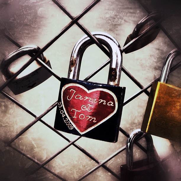Locked in love