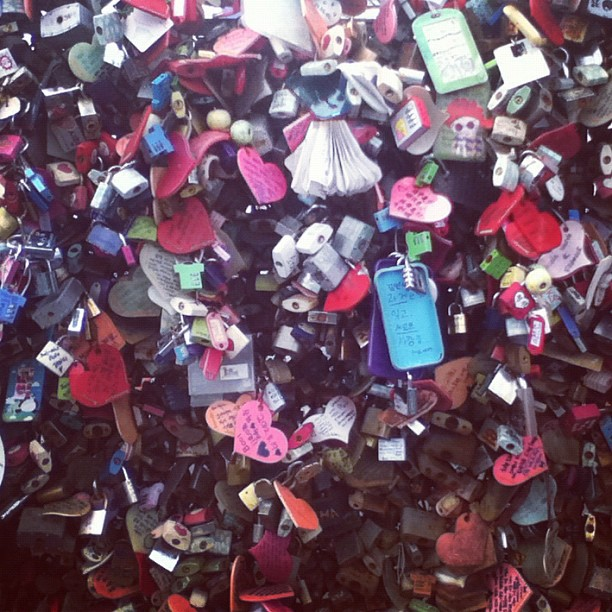 #LoveLocks #NamsanTower #Seoul #Korea