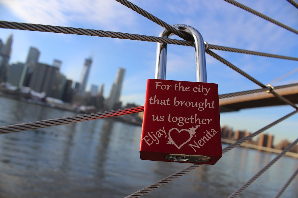 Love Locks Brooklyn Bridge Park