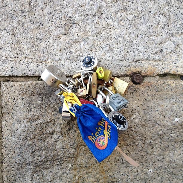 #makelovelocks #nyc