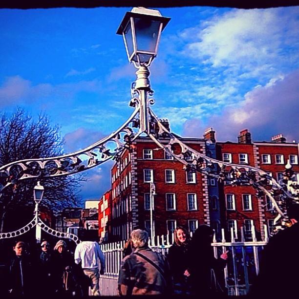#Dublin#lovepadlocks #love #lovelocks #bridge