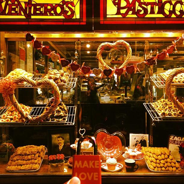 Make Love #makelovelocks #lovelocks #love #luv #valentinesday #sweet #nyc #eastvillage #sweetheart