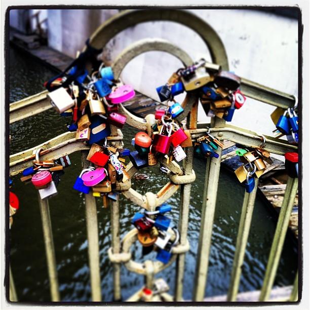 #prague #padlocks #bridge #littlevenice #love #lovelocks