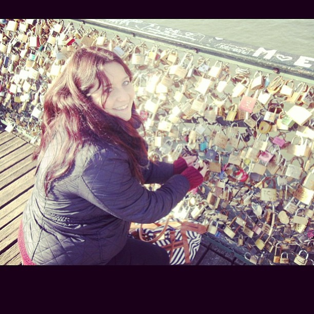 Paris #lovelocks #love