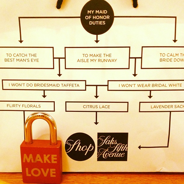 Make Love #makelovelocks #lovelocks #makelove #live #love #luv #weddings #bridesmaid #maidofhonor #groom #bride #saksfifthavenue #weddinggown #cute #shopping #travel #weddingseason #weddingprep #dress #picoftheday #photooftheday #instamood #bestoftheday #bestdayofmylife #wedding #memory #memories #happy #fun