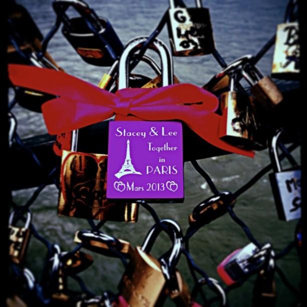 #pontdesarts #bridge #lovelock #Paris #2013 xxx