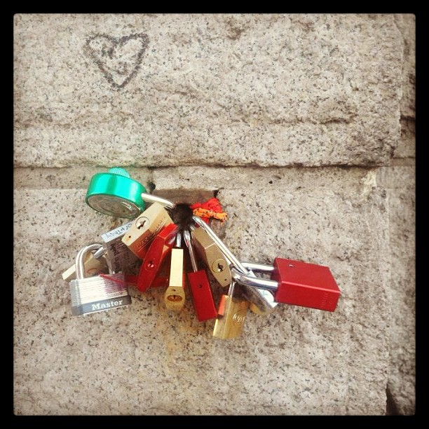 #lovelock #lovelocks #brooklynbridge
