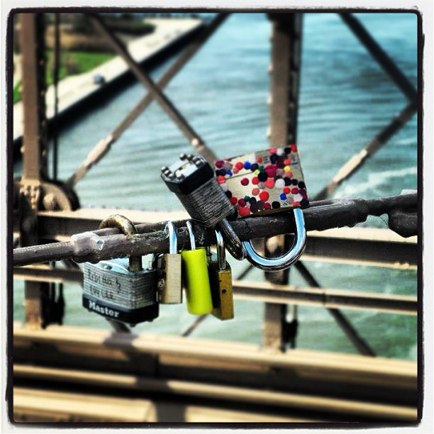 #lovelock on #brooklynbridge