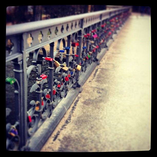#locks #locksoflove #lovelocks #bridge #hamburg #alster #lovinglife