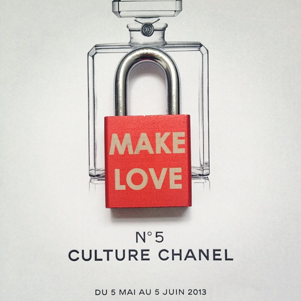 No. 5 #Culture #Chanel #exhibition at #palaisdetokyo #paris #instagood #art #fashion #beauty #classic #memories #travel #france #french #francophile #engaged #wedding #makelove #makelovelocks #lovelocks #love #live #happy #life #red #