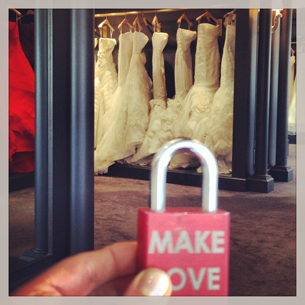 Shopping for THE DRESS #verawang #weddings #engaged #wedding #bride #groom #maidofhonor #bridesmaids #fashion #instagood #instamood #picoftheday #makelove #makelovelocks #lovelocks #love #luv #wife #husband #travel #nyc #memories #onceinalifetime #instahub