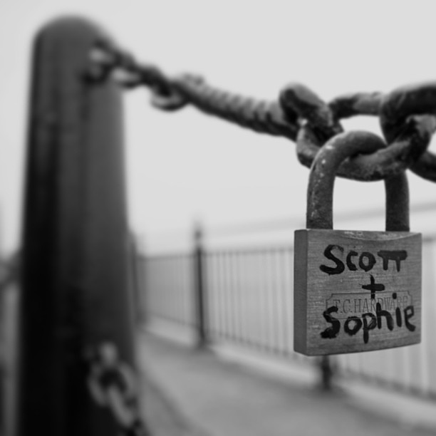 Don't know who Scott and Sophie??? #lovelocks #liverpool #albertdock #bwsquare #bwshotz #bwmasters #bwoftheday #bnw_worldwide #bws_worldwide #bws_silhouettes #blackandwhitephotography #ig_captures_bw #ic_bw #irox_bw #igers_bnw #mostdeserving #blackandwhite_perfection #bnwhispers #bwstyles_gf #bwmasters #gi_bnw #ig_captures_bw #md_bw