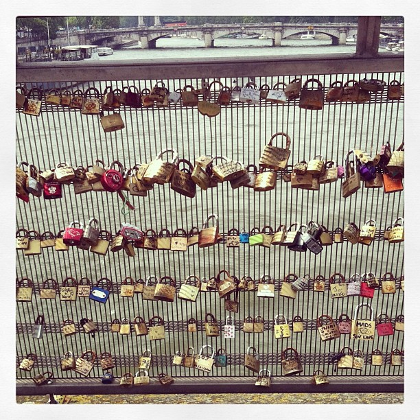 #lovelocks are everywhere in this town!