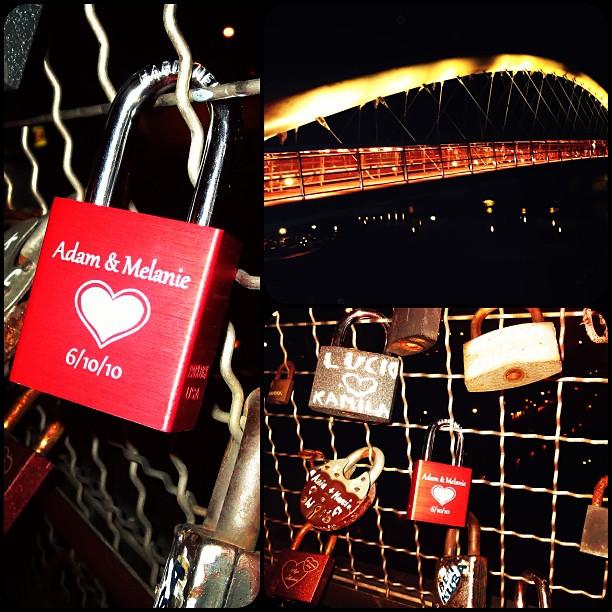 Love locked in Krakow  </p> <span class=