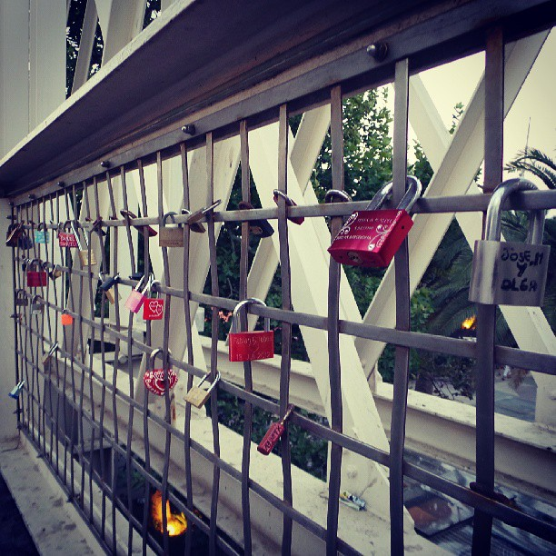 #lovelocks #barcelona #beach