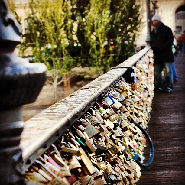 Love of my life #Paris #LoveLocks