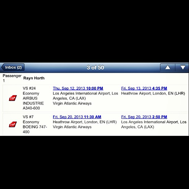 I've never been so excited in my entire life!!!! 8 days to go #londonbitches ✈ </p> <span class=