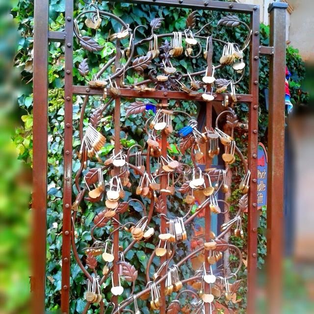 #locksoflove #lock your #love #forever #nokeys