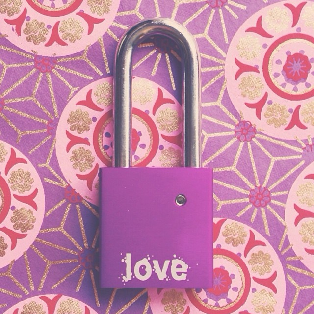 And the back.... #lastone #makelovelocks #lovelock