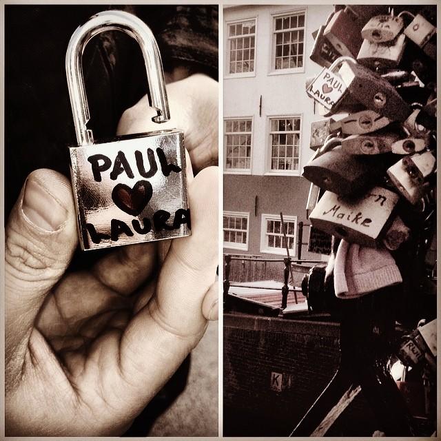 #amsterdam#lovelocks#padlock#canal#boyfriend#love#travel