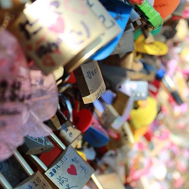 I Love... #lovelocks #enoshima #japan
