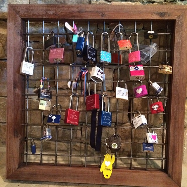 Love-locks-from-Tess-and-Joes-wedding -Love-how-this-turned-out-as-a