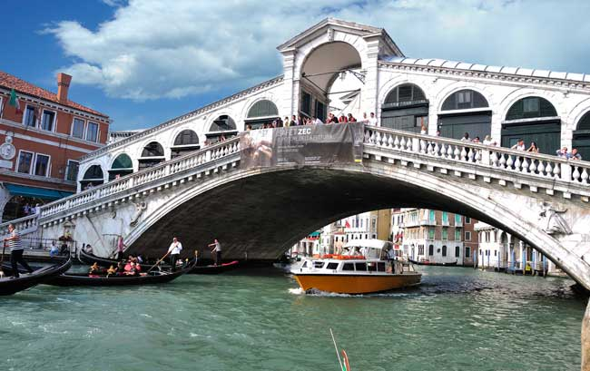 Rialto Bridge Photo: gnuckx / Flickr
