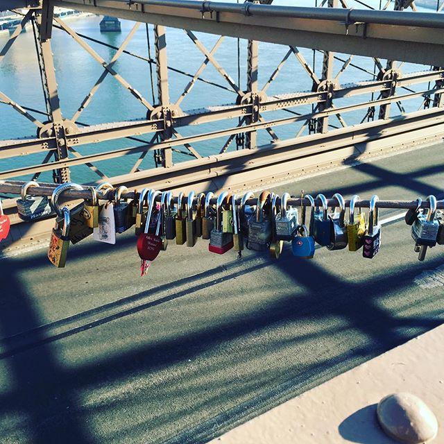 Brooklyn Bridge Nyc Padlocksbridge Lovelocks Brookynbridge